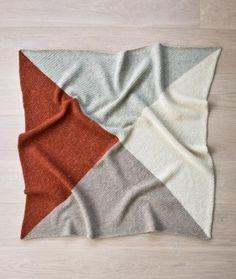 Crochet Four Points Baby Blanket