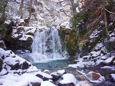 CASCADAS EN VILLA LA ANGOSTURA, Cascadas Villa La Angostura Patagonia, Oregon, Travel And Tourism, Central America, Waterfall, Winter, Landscapes, Pictures, Outdoor
