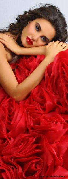 Women's Fashion . Red . source unknown
