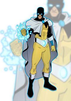 Solaris by JoeMDavis on DeviantArt Superhero Suits, Superhero Design, Superhero Characters, Superhero Ideas, Alien Character, Comic Character, Character Concept, Character Modeling, Minions