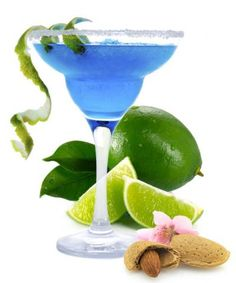 Margarita Azul...1 3/4 oz. tequila   3/4 oz. amaretto   3/4 oz. blue curaçao   1/2 oz. Daily's Lime Juice   2 oz. Daily's Sweet & Sour Mix