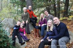 A Multi-Generation Family Shoot | Chelsea Proulx Photography