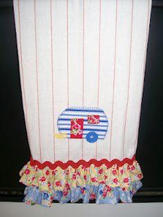 My Sew Sweet Studio  Beverly's darling towel.  Seriously cute!