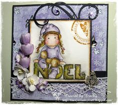 Tracey's Country Crafts: Bearly Mine Challenge #67 Something Old, Something New