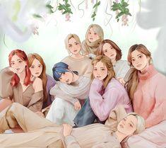 Closer Quotes Movie, Graduation Picture Poses, Kim Taehyung Funny, Instagram Emoji, Twice Album, Twice Fanart, Kpop Fanart, Jungkook Fanart, Twice Dahyun