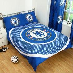 Chelsea F.C Double Duvet Set ES Official Merchandise