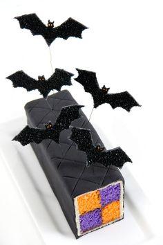 Halloween battenberg