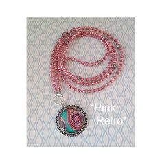 Charm- & Bettelketten - *PINK RETRO* ROMANTIK RETRO BETTELKETTE - ein Designerstück von pomp-and-jewels bei DaWanda