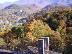 Gatlinburg, TN.  One Christmas, I want to take the family here, rent a cabin, and enjoy the scenery!