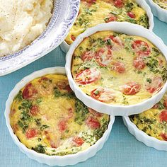 Tomato-Herb Mini Frittatas - Easy and Delicious Frittata Recipes - Southern Living