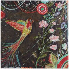 Bohemian Bird Wall Art is part of Bohemian Art painting - Bird Wall Art, Framed Wall Art, Canvas Wall Art, Painted Canvas, Wall Mural, Bohemian Painting, Bohemian Wall Art, Bohemian Style, Bohemian Decor