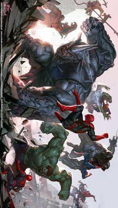 Marvel Movies in Chronological Order up to 2019 Bucket List Your Welcome Marvel Dc Comics, Marvel Avengers, Marvel Fan Art, Marvel Memes, All Spiderman, Spiderman Kunst, Amazing Spiderman, Splash Art, Mundo Marvel