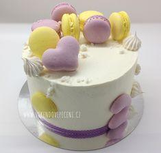 Borůvkovo-citronový dort - Víkendové pečení Cupcake Cakes, Cupcakes, Pavlova, Vanilla Cake, Baked Goods, Bakery, Cheesecake, Birthday Cake, Pudding