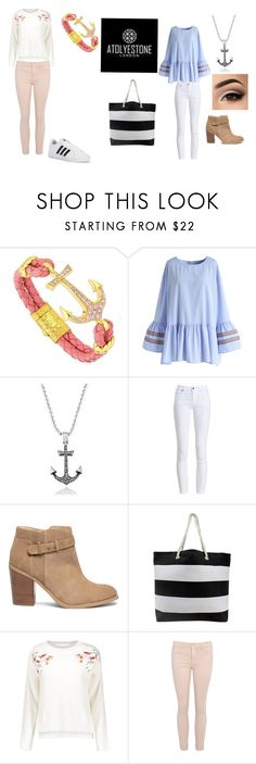 """""""#love it"""" by saav on Polyvore featuring Chicwish, Barbour, Sole Society, Anastasia Beverly Hills, adidas and cute"""