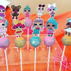 LOL Surprise Dolls Cakepops