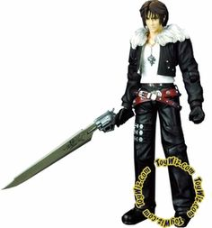 Final Fantasy VIII Play Arts Action Figure Squall Leonhart