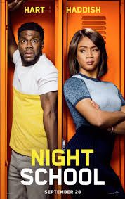 The trailer for Kevin Hart's (Jumanji: Welcome to the Jungle, Ride Along) upcoming comedy, Night School, has been released. Star Kevin Hart and prod. Streaming Hd, Streaming Movies, Disney Pixar, Disney Movies, Coming Out, Movie Db, Movie Times, Movie Cast, Site Pour Film