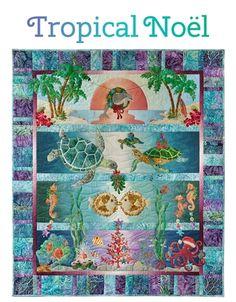Coastal Quilts | Nautical & Beach Themed Applique Patterns