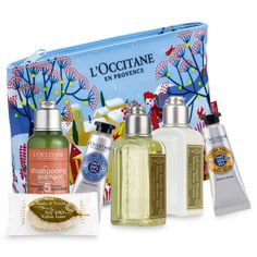 Some typical products and best seller of the brand L'Occitane en Provence.