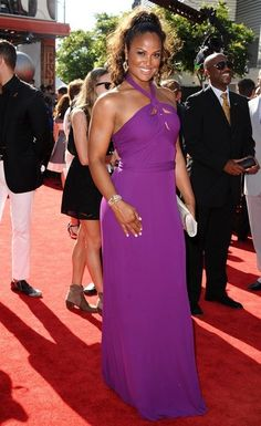 Laila Ali Photos - Red carpet arrivals at the ESPY Awards at the Nokia Theatre in Los Angeles on July - Arrivals at the ESPY Awards Laila Ali, Boxe Fight, Black Magic Woman, Black Goddess, Glamour Shots, African American Women, African Beauty, Famous Women, Beautiful Black Women