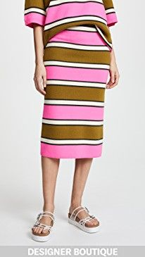 New Marc Jacobs Striped Pencil Skirt online. Perfect on the 3.1 Phillip Lim Clothing from top store. Sku monl54326alnv86007