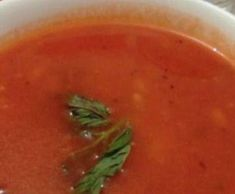 soupe à la tomates by dalx13 on www.espace-recettes.fr