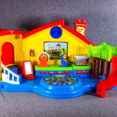 Fisher Price Little People Place Preschool Talking Musical Play Set  #FisherPrice