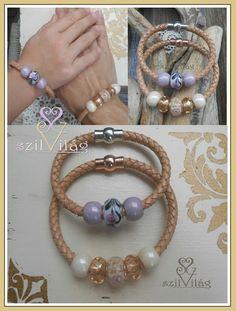 www.facebook.com/szilvilag  egyedi anya-lánya karkötő,  jewel