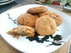 Doe-full: Recipes  Macadamia Chocolate Chip Cookies.   Gluten free, dairy free, soy free, just be sure you use Enjoy Life chocolate chips to make them safe to eat.