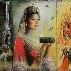 Pretty lady in Azerbaijan traditional dress. Baku Azerbaijan, Iranian Art, Pencil Art Drawings, Illustrations And Posters, Anthropology, Traditional Dresses, Modern Art, Beautiful Pictures, Character Design