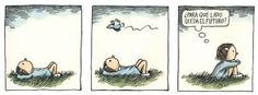 Fellini y Enriqueta Liniers, seudónimo de Ricardo Siri (Buenos Aires, 15 de noviembre de 1973), es un historietista argentino conocido por ser el autor de Macanudo. #Humor