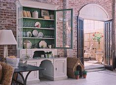 Renovation/Buildout: Interior Design: Jill Sharp, Photos Rob Brinson-love the brick walls