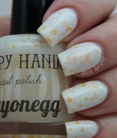 Accio Lacquer: Happy Hands Mayonegg