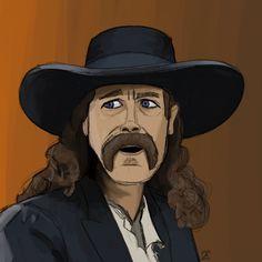 Wild Bill Hickock sketch