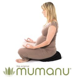 The self-inflating Mumanu can me sat on during yoga or on the sofa/floor while you watch TV. Mostly deflate it and fold it in half. It'll allow you to rock your pelvis side to side to keep your spine mobile. www.mumanu.com