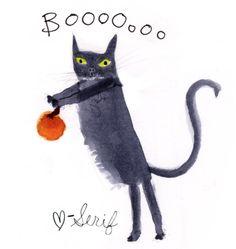 Boo!  by Julia Denos