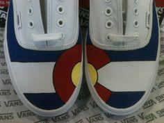 Colorado Pride! Custom Vans, love them . want them