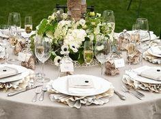 como decorar una mesa para boda