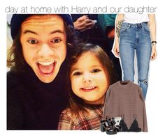 """""""day at home with Harry and our daughter"""" by radiantily ❤ liked on Polyvore featuring ASOS and Monki"""