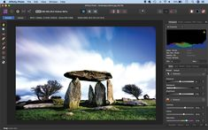 Six tips to enhance a landscape in Affinity Photo: contrast, clarity, drama and details Photography Software, Landscape Photography Tips, Photography Lessons, Scenic Photography, Aerial Photography, Night Photography, Landscape Photos, Digital Camera Tips, Canon Digital
