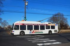 SEPTA New Flyer trackless trolley on Rt.75 Wyoming Ave.