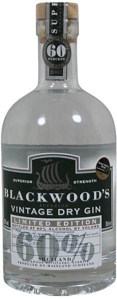 Blackwood's Strong Gin / Vintage Dry / Scotland / Blackwood´s Distillery / Personal Taste: 3of5