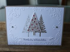 29. September 2014 buntbestempelt: stampin up Festival of Trees, Filigree Frame TIEF
