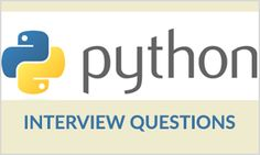 Frequently asked Python Interview Questions with detailed answers and examples. Tips and Tricks for cracking Python certification and Python interview.