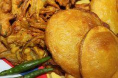 Onion and Potato fritters