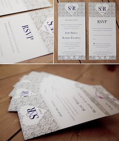 Love the styles of wedding invites. See more at, http://www.photographyinstyle.com