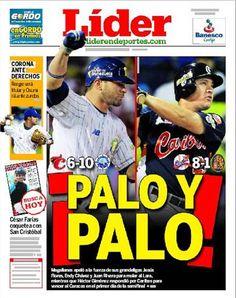 ¡PALO Y PALO! Magallanes apeló a sus grandeligas para moler al Lara. Gimenez respondió por Caribes | Es la portada de este 03 de enero