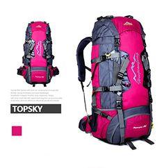 6403b76b2 Fuchsia Camping Travel Waterproof Backpack Outdoor Hiking Daypacks Climbing  Cycling Mountaineering Bag *** More
