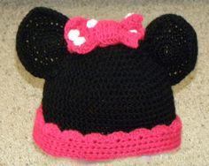 Crochet Minnie Hat by CarrieChelle