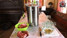 Canning Pork In A Pressure Cooker Like Grandma - Long Shelf Life - YouTube Canning 101, Long Shelf, Shelf Life, Food Storage, Cooker, Frozen, Pork, The Creator, Tasty